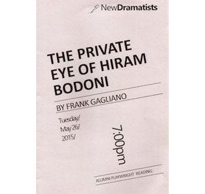 The Private Eye of Hiram Bodoni